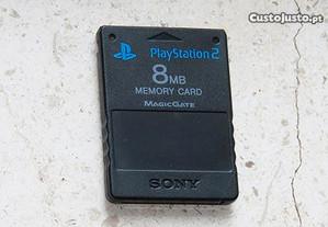 Playstation 2: Cartão de memoria original