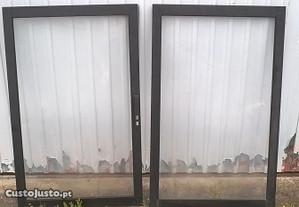 janela de correr em aluminio