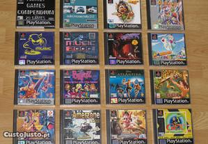Playstation 1 / 2 / 3: 50 jogos
