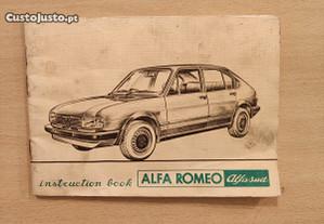 Alfa Romeo Alfasud - Manual de Proprietário