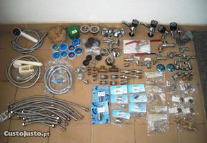 Lote de material diverso para canalização (NOVO)