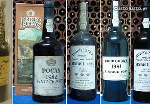 Vintages 1941, 1970, 1982, 1985, 1991, 1994 e 2004
