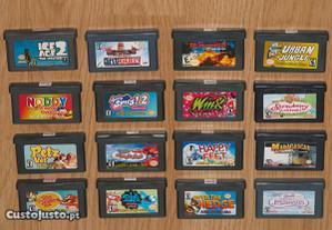 Game Boy Advance: 16 jogos