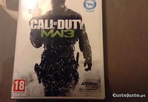 Jogo Wii Call of Duty Modern Warfare 3