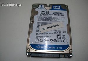 Disco HDD Western Digital 320GB Sata