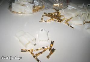 Conectores / fichas / sockets eléctricos 3/2 fios