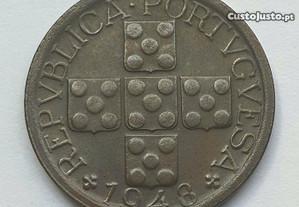 Moeda de X Centavos de 1948 - Bela a Soberba