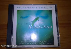 CD - Som de golfinhos - Música para relaxar