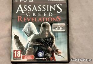 Assassin's creed revelations PS3 como novo