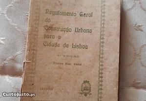 Regulamento Geral da Const. p/ Cidade Lisboa 1936