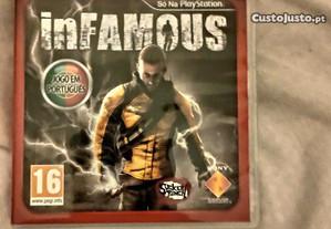 Infamous PS3 como novo