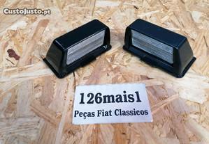 Lente farolim matricula Fiat 127 900c
