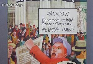 Livro Banda Desenhada - Bancarrota - Edições 70
