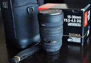 Sigma 15-30mm para Nikon fulframe ou aps-c