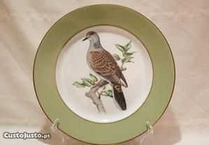 Prato Coleção Aves de Caça Nº 6 Rôla Edição Limita