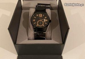 Relógio Anthony James London Vintage - Novo