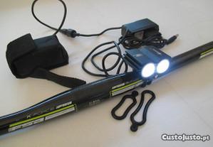 Lanterna Led 5000 Lumens 2 x Cree