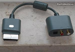 Xbox 360: Cabo Audio Saida Otica enquanto usa HDMI