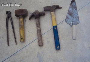 ferramenta de trolha varias pecas