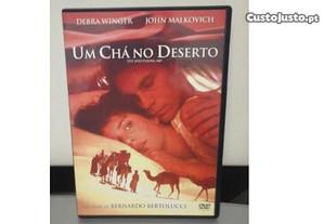 DVD Um Chá no Deserto Bernardo Bertolucci Leg PT