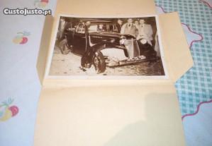 fofo acidente carro comandante P.S.P -Porto 1953