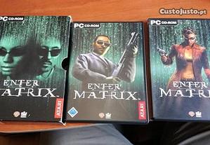 Enter the Matrix Jogo PC Retro Edição Colecionável