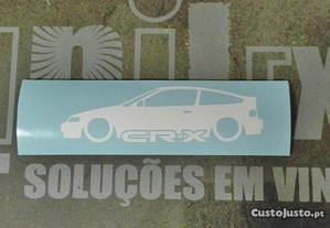 Silhueta Honda CRX