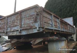 Caixa basculante camião carrinha atrelado Bascula