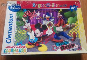 Puzzle 104 peças Mickey Mouse
