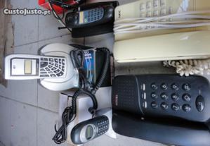 telefones antigos com cabo para troca