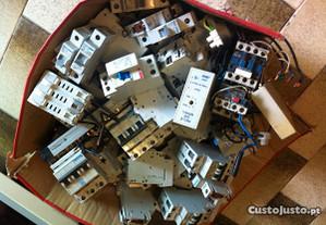 Dijuntores diferenciais material eléctrico