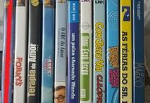 Lote 9 DVD Filmes / Series comédia