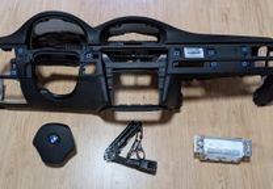 Conjunto Kit Airbags BMW E90 E91 Série 3 Tablier