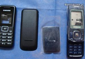 Capas Originais Samsung GT E1050 e M610