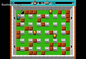 Jogo Dyna Blaster (Bomberman ano 1992