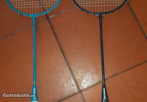 2 raquetes badminton