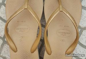 Sandálias/chinelos/Havaianas verão senhora n.º 39