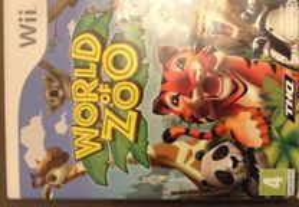 Jogo Wii World of Zoo