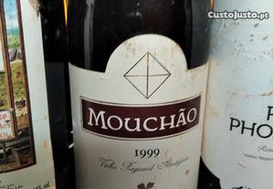 Garrafa Vinho Tinto RaraMouchão 1999