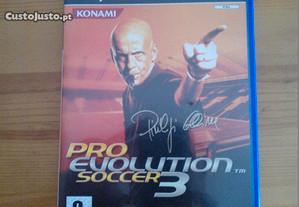 Jogo Playstation PS2 Pro Evolution Soccer 3