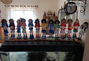 Bonecos de Futebol Artesanais