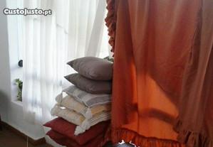 Toalhas,cortinas cobertores mantas edredons ca