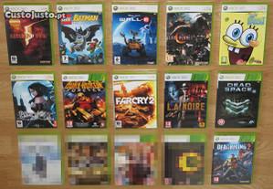 Xbox 360: Pack de 12 Jogos