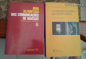 Obras Jean Cazeneuve e Boaventura de Sousa Santos