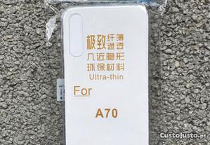 Capa de silicone para Samsung Galaxy A70 - Novo