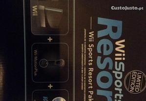 Consola Wii Sports Resort Pak Edicao limitada