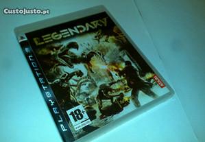 legendary - jogo ps3 (jogo playstation 3)