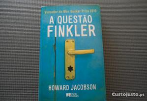 A Questão Finkler por Howard Jacobson