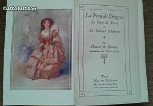 Balzac La Peau de Chagrin Ano 1711 (raro)
