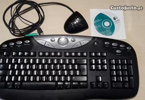 Teclado Logitech para computador